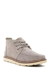 Toms Classic Suede Chukka Boot Gray