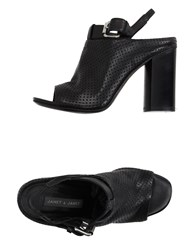 Janet And Janet Sandals Black