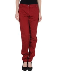 French Connection Casual Pants Brick Red