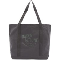 Maison Kitsune Grey Palais Royal Shopping Tote