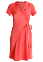 Strenesse Davida Summer Dress Coral