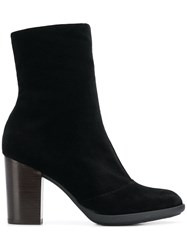 Chie Mihara Fargo Heeled Ankle Boots Black