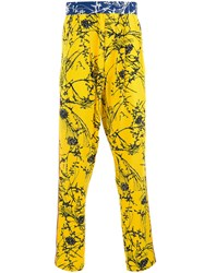 Haider Ackermann Look 17 Trousers Yellow Orange