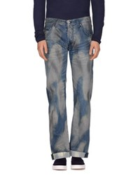 Evisu Denim Denim Trousers Men Blue