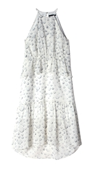 Tibi Shibori Dots Layered Dress
