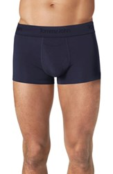 Tommy John Second Skin Square Cut Trunks Dress Blues