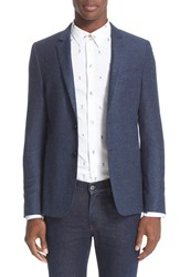 Paul Smith Men's Ps Wool And Silk Knit Blazer