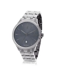 Maserati Attrazione Silver Tone Stainless Steel Men's Bracelet Watch