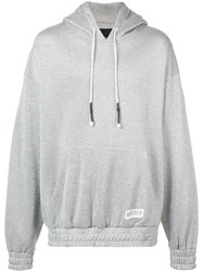 Mostly Heard Rarely Seen Shine Hoodie Silver