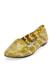Melissa Shoes Melissa Jason Wu Virtue Jelly Flat Clear Yellow