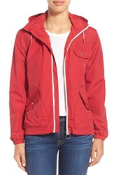 Women's Penfield 'Rochester' Windbreaker Red