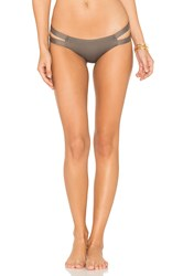 Vitamin A Teeny Neutra Bikini Bottom Brown