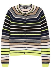 Paul Smith Striped Wool Cardigan