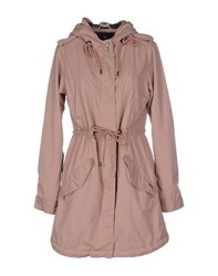 Maison Scotch Coats And Jackets Full Length Jackets Women Pastel Pink