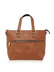 Ollie And Nic Duke Medium Tote Bag Tan