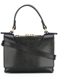 L'autre Chose Top Handle Tote Black