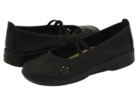 Arcopedico Flower Black Leather Women's Maryjane Shoes
