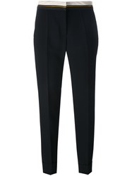 Barbara Bui Tailored Cropped Trousers Black