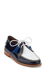 G.H. Bass Women's And Co. 'Winnie' Leather Oxford Navy White Leather