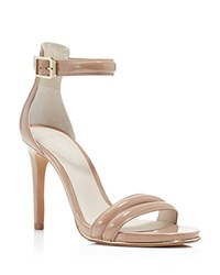 Kenneth Cole Brooke Ankle Strap High Heel Sandals Buff