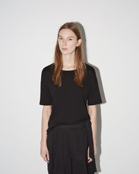Raquel Allegra Basic Tee Black