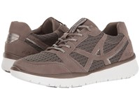 Allrounder By Mephisto Lucaya Earth Nubuck Knit Mesh Shoes Brown