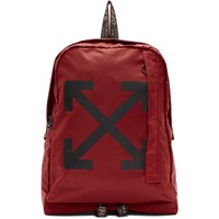 Off White Red Easy Backpack