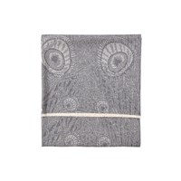 Liberty London Merino Hera Throw Arthur Grey