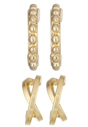 Pieces Pchall Set Earrings Goldcoloured