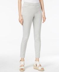 Eileen Fisher Organic Cotton Blend Pull On Jeggings Regular And Petite Cement