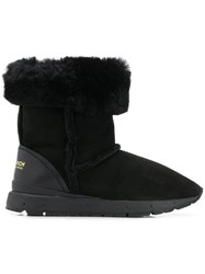 Woolrich Lined Boots Black