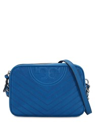 Tory Burch Leather Camera Bag Blue
