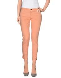 Gold Case Trousers 3 4 Length Trousers Women Salmon Pink