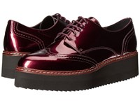 Shellys Tommy Platform Oxford Burgundy Women's Shoes