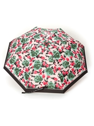 Marc By Marc Jacobs Floral Print Umbrella Black