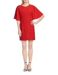 Vince Camuto Batwing Sleeve Sheath Dress Red