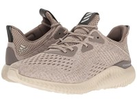 Adidas Alphabounce Em Tech Earth Clear Brown Crystal White Women's Running Shoes Beige