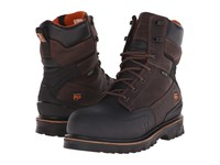 Timberland 8 Rigmaster Xt Steel Safety Toe Waterproof Brown Tumbled Leather Men's Work Boots