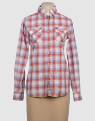 Arnold Zimberg Long Sleeve Shirts Coral