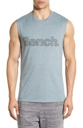 Men's Bench. 'Searing' Moisture Wicking Tank Stormy Sea