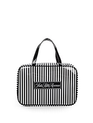 Saks Fifth Avenue Signature Striped Hanging Case