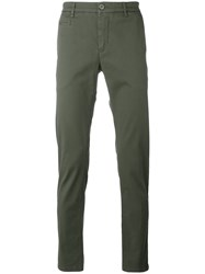 Re Hash Slim Fit Trousers Green