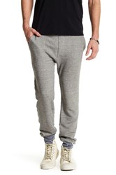 Save Khaki Colorblocked Sweatpant Gray