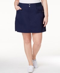 Styleandco. Style And Co. Plus Size Skort Only At Macy's Industrial Blue