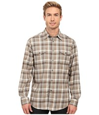 Mountain Khakis Peaks Flannel Shirt Firma Men's Clothing Gray