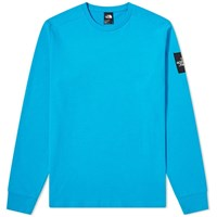 The North Face Long Sleeve Fine 2 Tee Blue