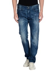 Timeout Denim Denim Trousers Men Blue