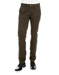 Ecko Unlimited Slim Tapered Chinos Dark Olive