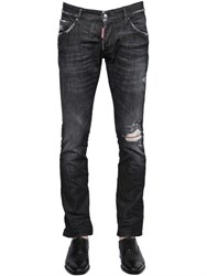 Dsquared2 18.5Cm Boot Cut Stretch Denim Jeans