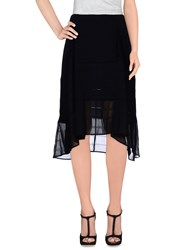 Max And Co. Skirts Knee Length Skirts Women Black